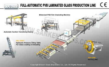 automatic pvb glass laminated machine