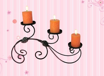 candle holders-iron candle holders