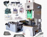 Aluminum foil container making machine - HDHALCH40