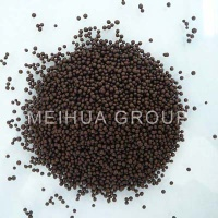 Compound organic fertilizer of potassium sulfate