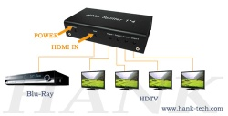 HDMI Mini Splitter 1in 4out - HSP0104B