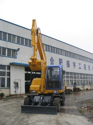 CE Approved Hydraulic Wheeled Excavator(8t)