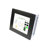 Atom N270 LCD Industrial Touch screen Panel PC IEC-608P
