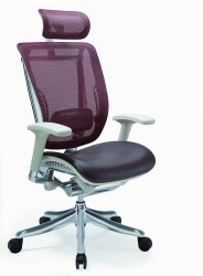 Mesh Chair with headrest - SPML01-G(IW-02 and L