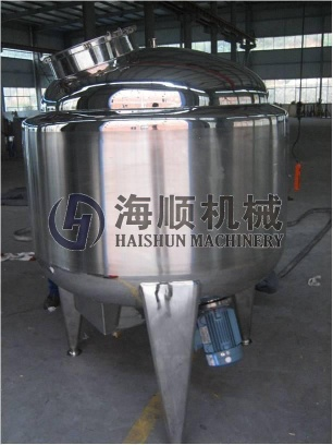 stainless steel tankd, storage tank, mixing tank, conical fermenter, milk chilling tank, emulsifying tank, jacketed kettle - HSMACHINE
