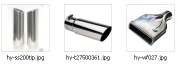 Stainless Steel Muffler Tips   - HY-T001