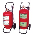 Transportable powder series extinguishers - Transportable powder