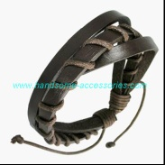 leather wristband - SLB0064