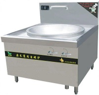 Commercial induction cooker single head big pan stove