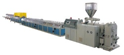 wood and plastic composites extrusion line