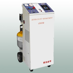 55D1refrigerant recovery and recycling machine - 1