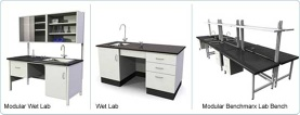 laboratory furniture - A