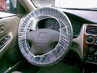 Disposable PE Steering Wheel Cover - PE-004