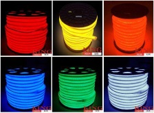 LED Neon Flex Red/Yellow/Orange/Green/Blue/White/Warm White