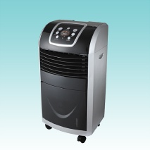 New air cooler with the function of cooler, humidifier, air purifier and ionizer