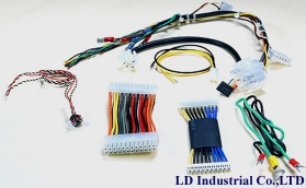 Cable Harness Assembly, Wire Harness kit Assembly, Wiring Kit, FFC Flat Cable, USB cable, automotive cable connector terminal - CH01