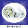 3x1Watts 110Votls MR16 LED Light Bulbs coordinating voltage from 85-265VAC Ideal for Halogen Replacement Bulbs