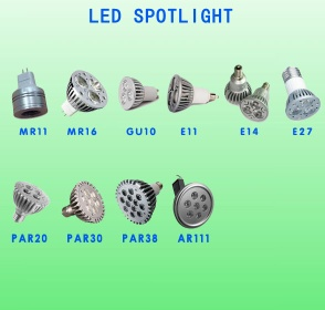 MR16 Dimmable LED spotlight