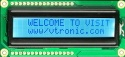16 x2 Character LCD module with VA of 64.0 x 13.8mm