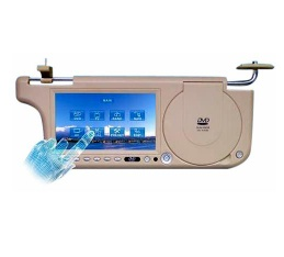 7inch Sunvisor  DVD with USB with SD/MMC/MS with Game with TV with Touch Screen with FM Transmitter