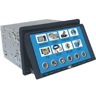 "2-Din DVD/ 7""TFT/TV/Touch Screen/SD/MMC/Detachable/GPS /bluetooth"