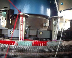 carpet knitting machine