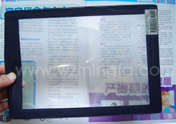 magnifier of black frame