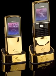 Nokia 8800 Special Edition Sirocco Gold GSM Cell Phone