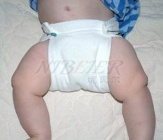 Infant Diapers 100%cotton Baby Diaper Nappies - 01