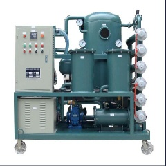 ZY Series Deteriorated Transformer Oil Purifier , Insulating Oil Recycle Set Improving Oil Dielectric Strength