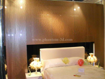 Bedroom on Phantom 3d Decorative Glass For Bedroom Background Wall  Decorative