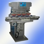 Pad printing machine for CD/DVD