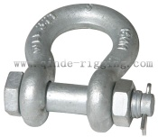 Bolt Type Safety Pin Anchor Shackle