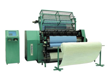 Comtuterized Muti-ti needle Shuttle Quilting Machine(Muti-Span) - quilting machine