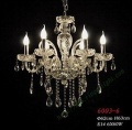 crystal candle lighting chandelier