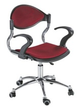 Office chair, Swivel chair, office desk chair, home office chair, fabric chair, armrest chair, computer chair - RE-210-G