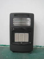 Electric and gas room heater