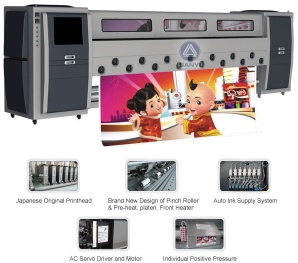 SY-3268D Solvent Printer