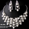 Jewelry Set Necklace With Earring NE-J006