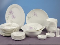42 pcs of tableware of loving all one's life