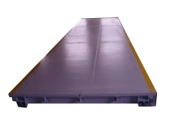 Large-Platform, Single-Deck Floor Scale (V8-ID) - Large-Platform