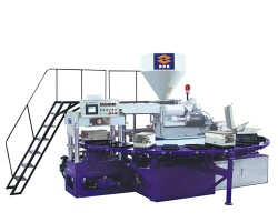 PVC Air Blowing Injection Moulding Machine