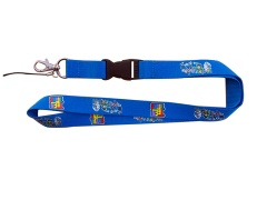 S098 Silk screen printing lanyard