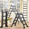 Mutil function steel ladder