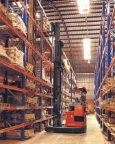 Storage rack and selective warehouse pallet racking