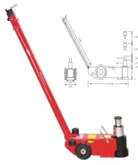 Air hydraulic jack/pneumatic jack - S30-2QL