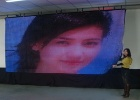 Soft LED screen for stage backdrop at special events stage lighting,marketing tours,entertainment,exhibits,corporate events