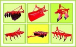 Rotary Tillers,rotavators,  Cultivators/tiller (Spring Loaded & Rigid), Disc Harrows,  M.B Ploughs, Disc ploughs, Ridgers, Su