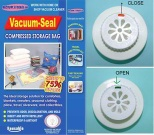 Original Vacuum Storage Bag w/patented Air Valve & Slider