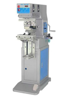 single color pad printing machine